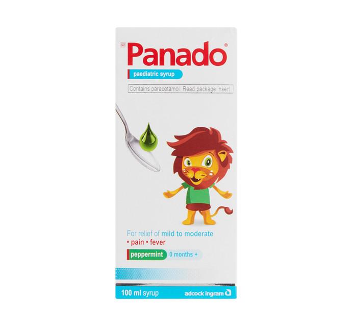 Panado Paediatric Syrup Regular (6 x 100ml)