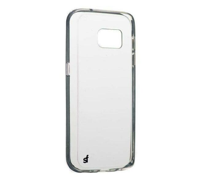 Superfly Soft Jacket Slim Samsung Galaxy S7 Cover (Clear)