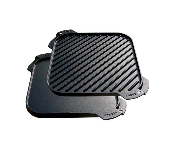 Lodge Cast Iron Single Reversible Grill/Griddle 26.19 cm