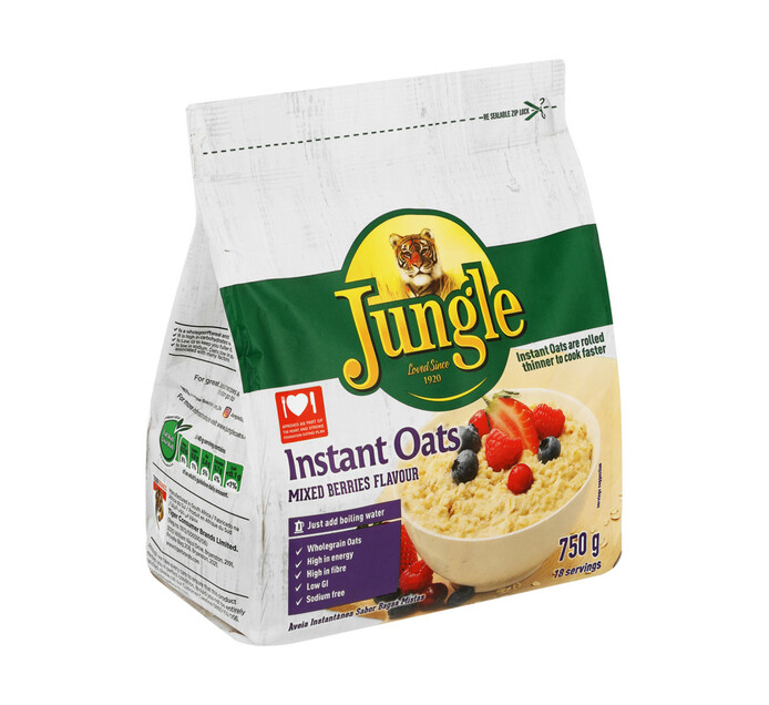 Jungle Instant Oats Mixed Berries (1 x 750g)