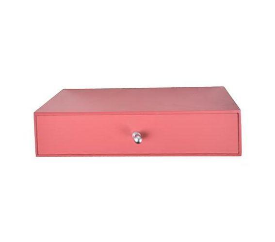 Single drawer -red