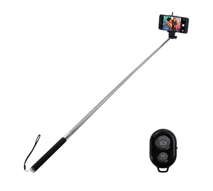 Amplify Selfie Series Bluetooth Selfie Stick - Black