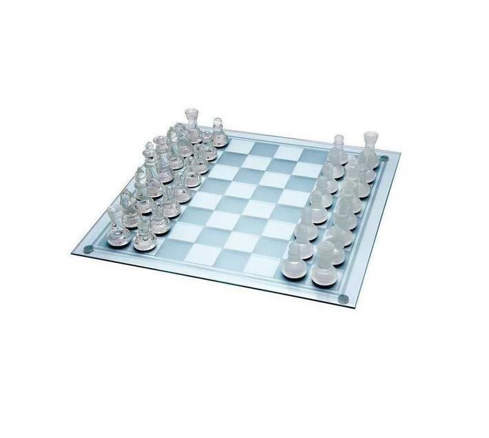 Ashcom Glass Chess Set