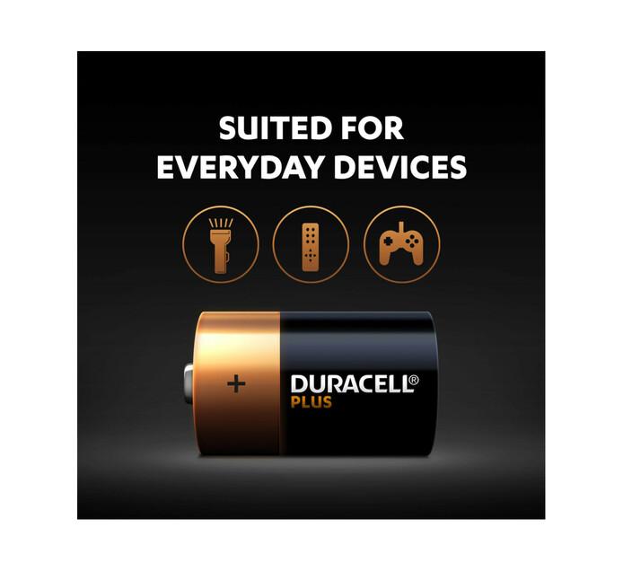 Duracell Plus Power D 2-Pack