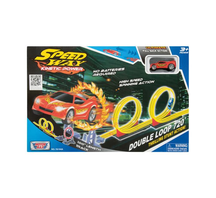 Motormax Speedway Double Loop Track Set
