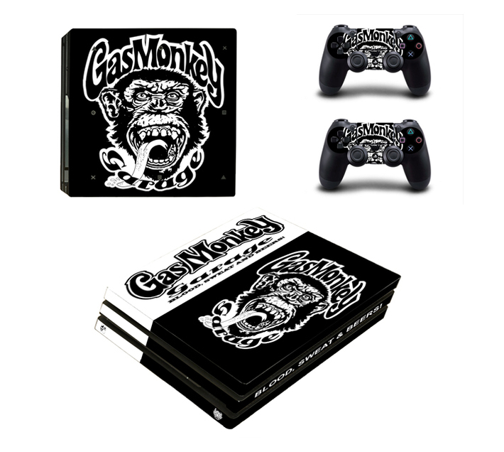 SKIN-NIT Decal Skin For PS4 Pro: Gas Monkey
