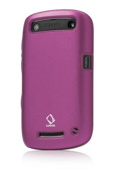 Capdase Alumor Blackberry 9360 Cover (Dark Pink)