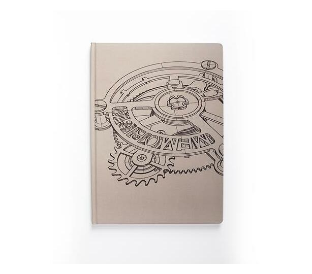 Scribblz A4 Brown Cog Journal