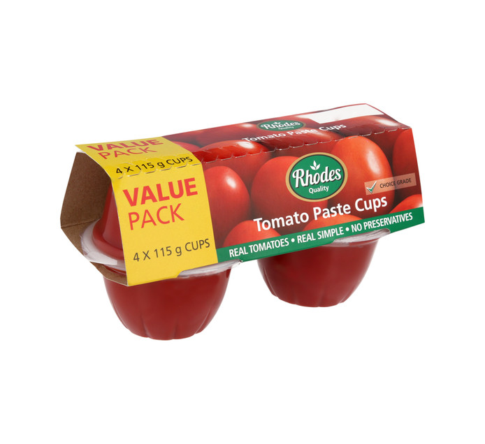 Rhodes Tomato Paste Value Pack (1 x 460g)