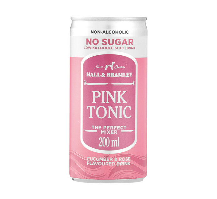 Hall & Bramley Pink Tonic Sugar Free (6 x 200ml)