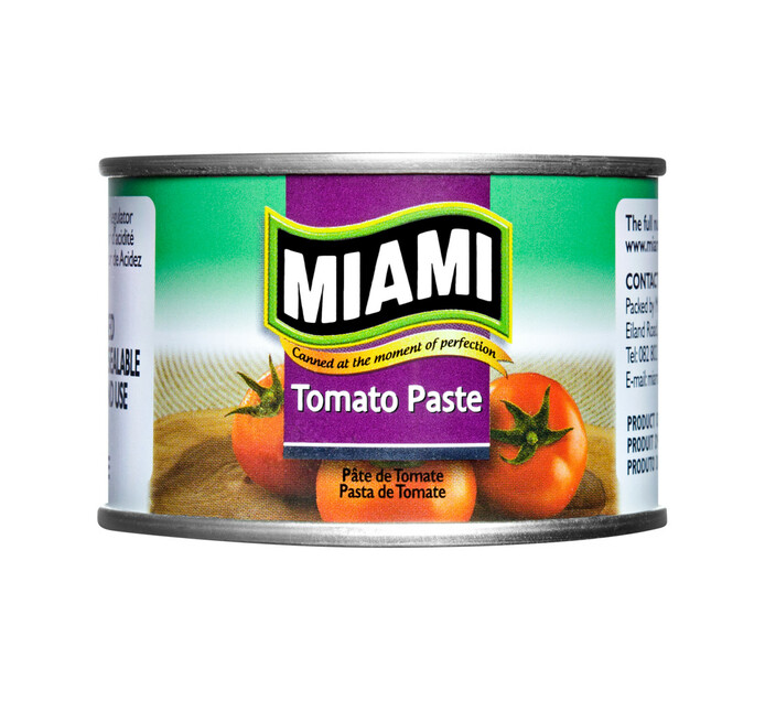 MIAMI CANNERS TOMATO PASTE 115G