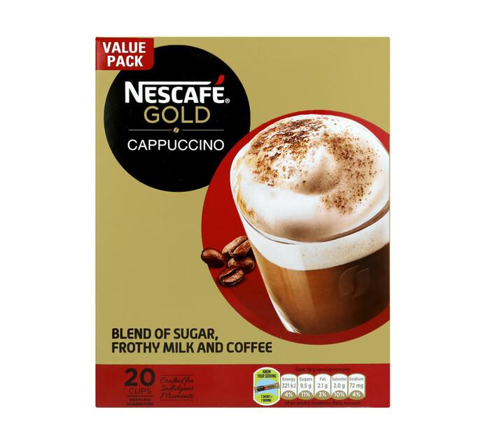 Nescafe Gold Cappuccino Coffee Original (20 x 18g)