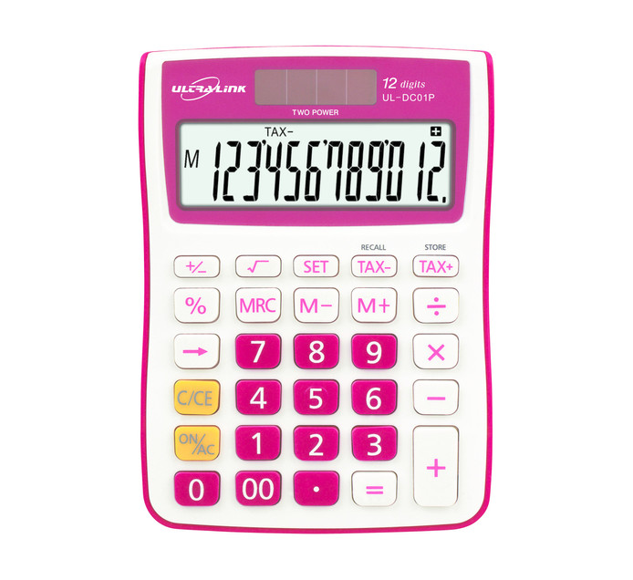 Ultra Link 12-Digit Tax Calculator