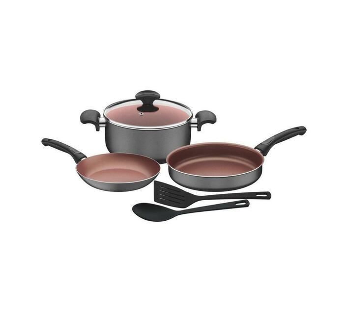 Tramontina 6pcs Aluminum Cookware Set, Vermont Range, Internal Non-Stick Coating