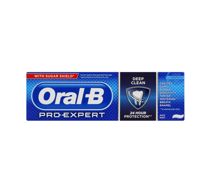 Oral B Pro Expert Toothpaste Deep Clean (1 x 75ml)