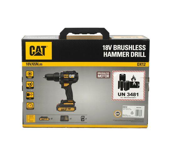 CAT 18 V Cordless Brushless Hammer Drill Kit