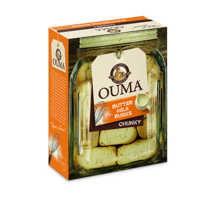 Ouma Bun Rusks Buttermilk (500g)