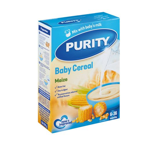 Purity Cereal 1st Foods Maize Gluten Free Gluten Free (1 x 200g)
