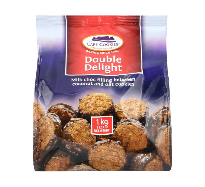 Cape Cookies Biscuits Double Delight (1  x  1kg)