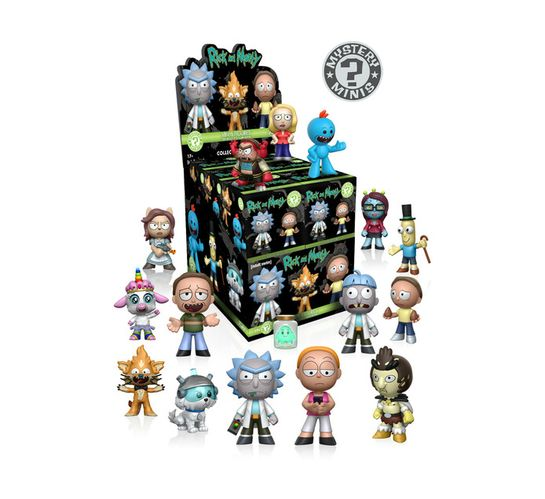 Funko Pop Mystery: Rick and Morty S1 (12PK)
