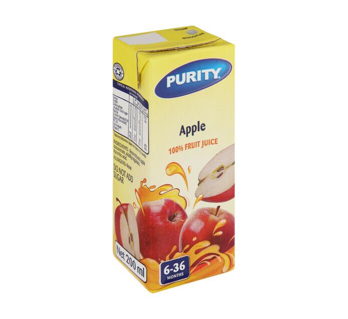 Purity Fruit Juice Apple (6 x 200ml)