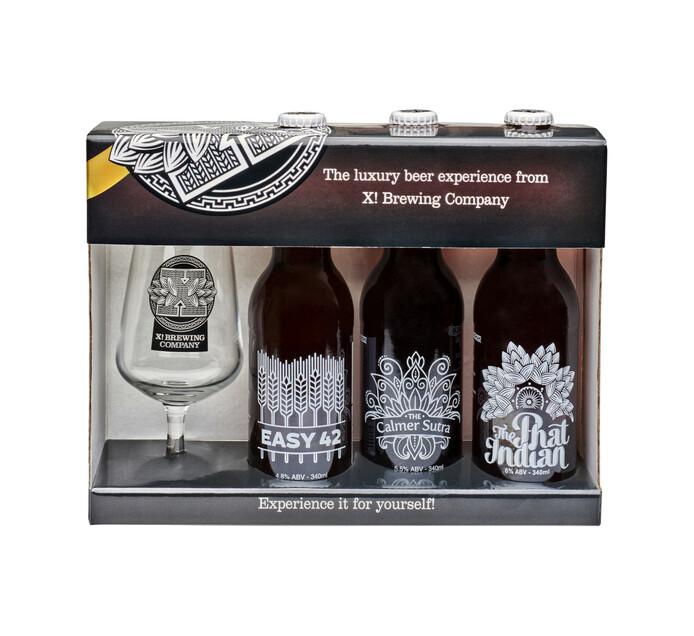 X! Brewing Company Luxury Craft Beer (1 x 340ML)