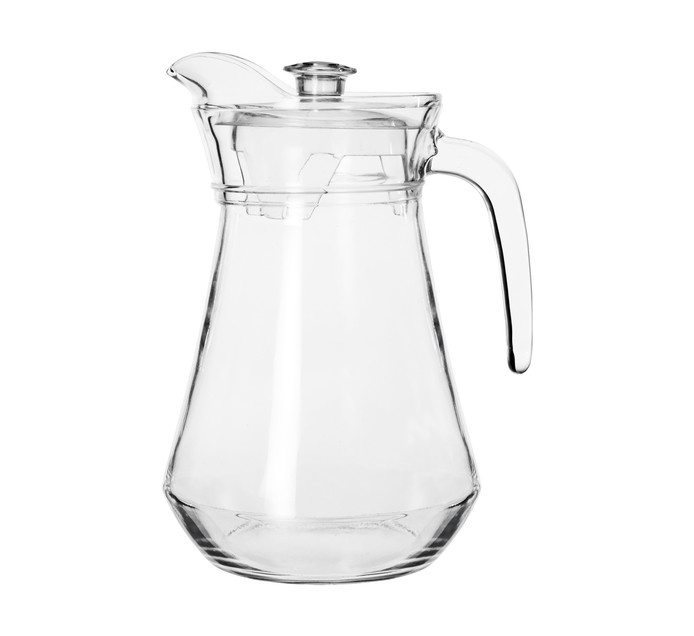 Regent 1.3 l Catering Glass Jug with Clear Lid