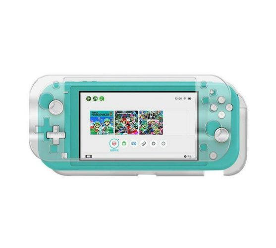 iPlay Nintendo Switch Lite Crystal Case + Tempered Glass Screen Protector