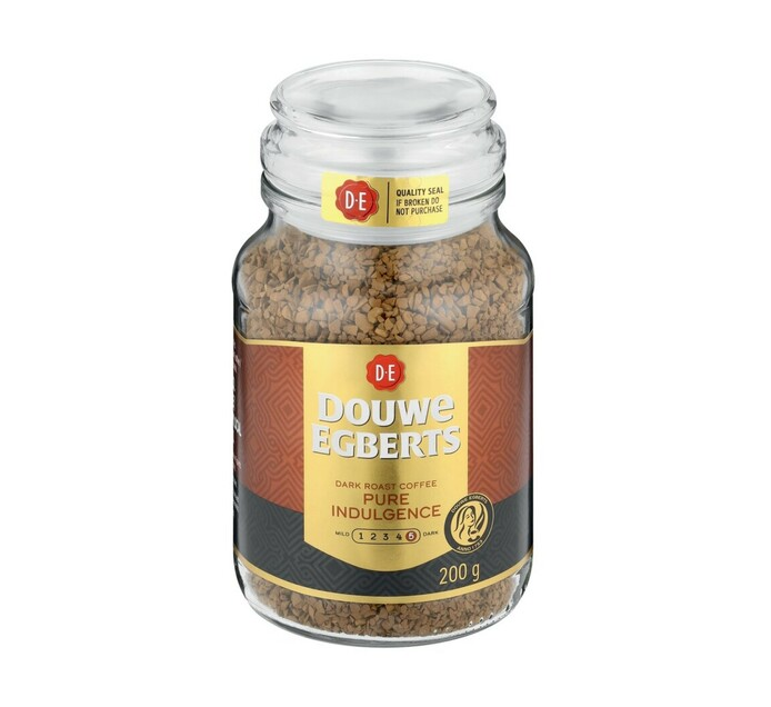 Douwe Egberts Instant Coffee Pure Indulgence (1 x 200g)