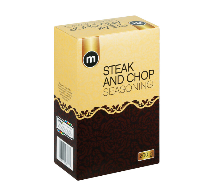 M Brand Seasoning Steak and Chops (1 x 200g)