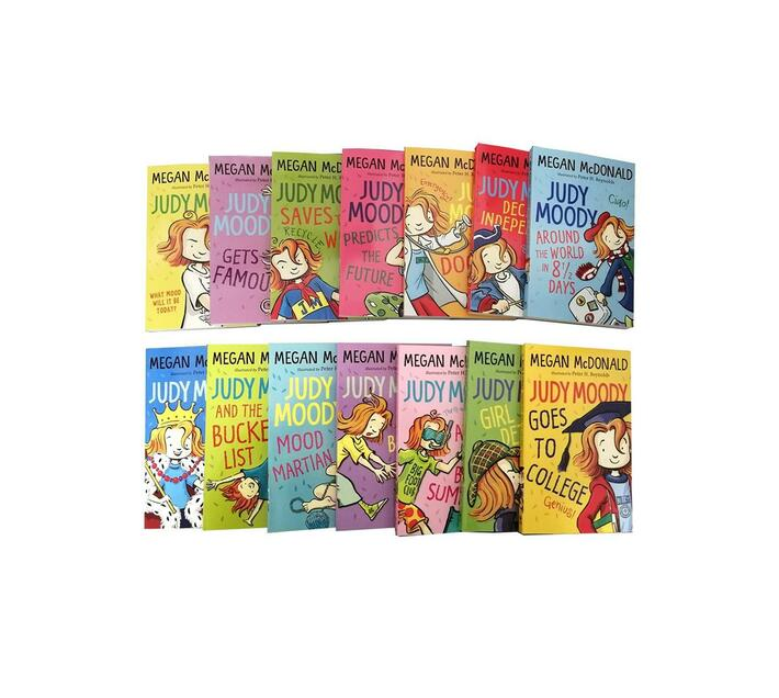 Megan McDonald Judy Moody Collection (14 Books)