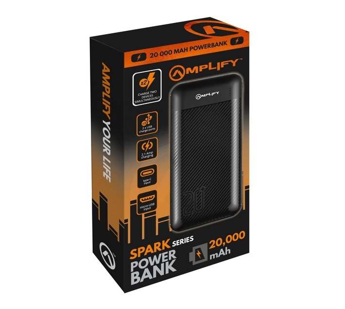 Amplify Spark Series 20000mAh Powerbank