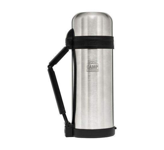 Camp Master 1500 ml Stainless Steel Flask
