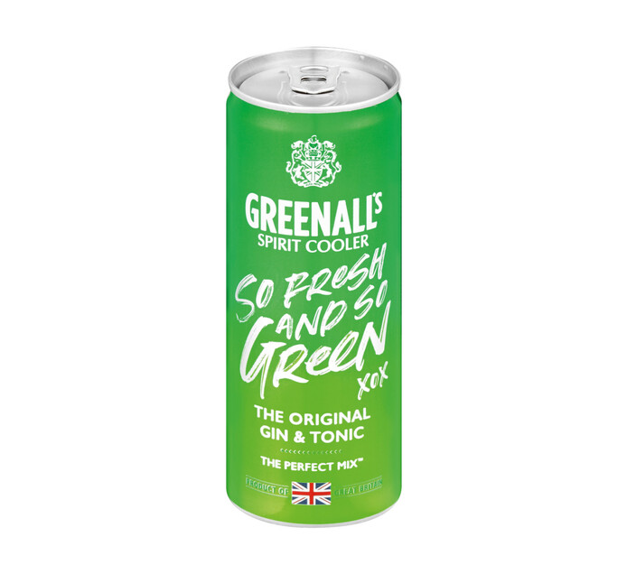 GREENALL'S Original Gin and Tonic (6 X 250ML)