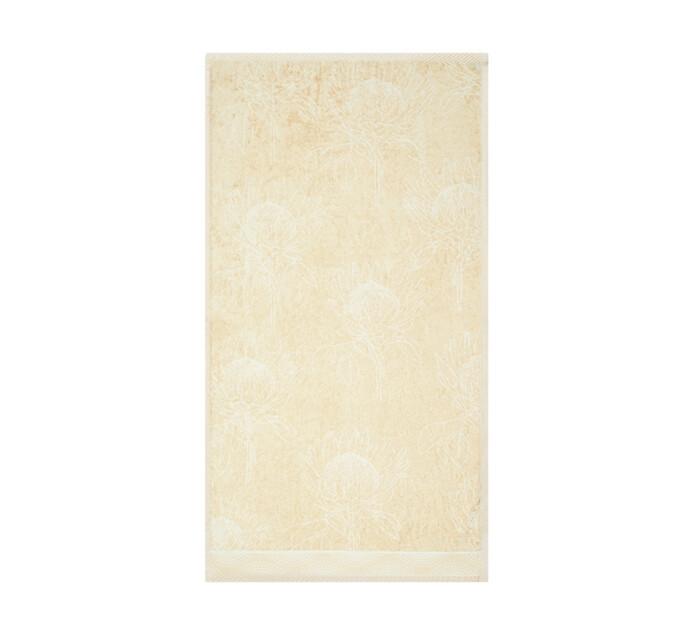 Glodina King Protea Velour Bath Towel natural