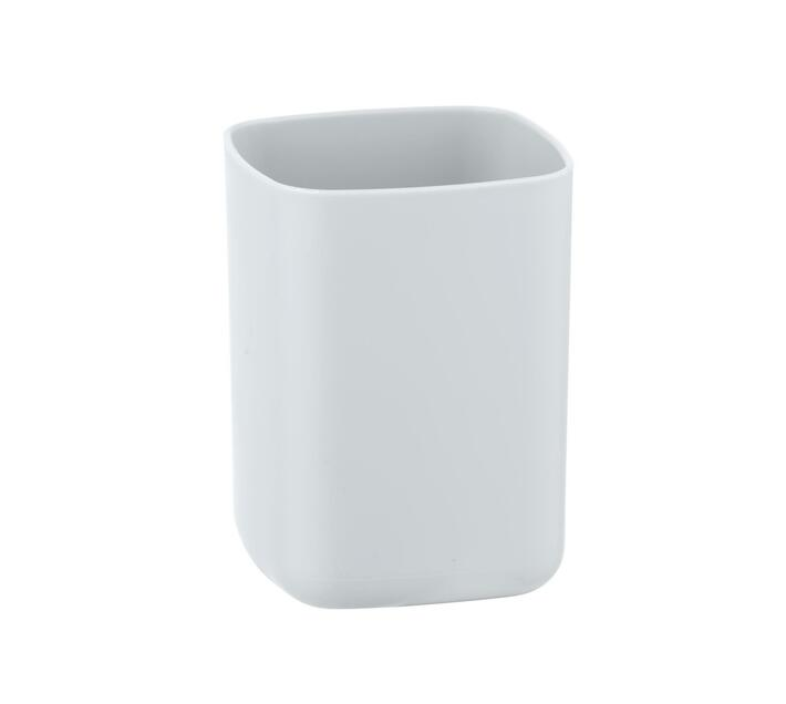 WENKO Toothbrush Tumbler - Barcelona Range - White - Unbreakable
