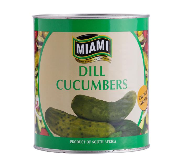 MIAMI Cucumbers Dill (1  x 2.9kg)