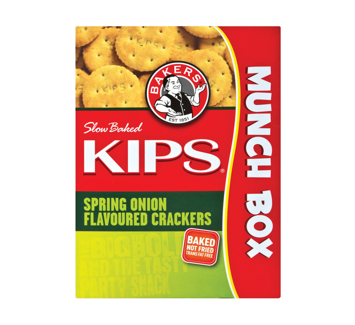 Bakers Kips Savoury Biscuits Spring Onion (1 x 200g)