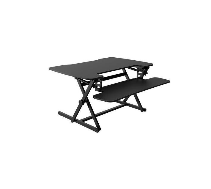 MT112M on-desk sit-stand desk converter