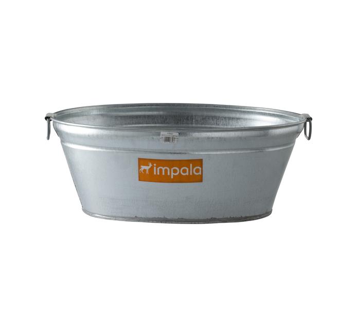 Impala 60cm Galvanised Bath