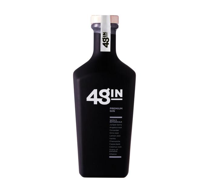 48 Premium Platinum Gin (1 x 750 ml)
