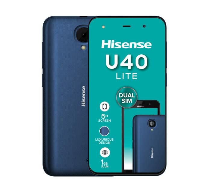 Hisense U40 Lite Dual Sim Blue