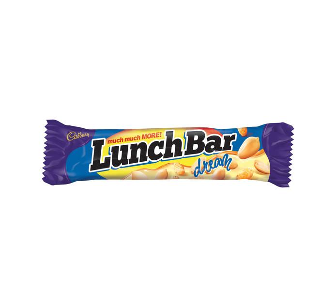 Cadbury LunchBar Dream Chocolate Bars (All variants) (1 x 1's)