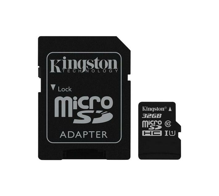 Kingston Canvas Select - flash memory card - 32 GB - microSDHC UHS-I
