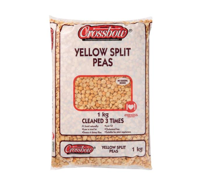 Crossbow Yellow Split Peas (1 x 1kg)