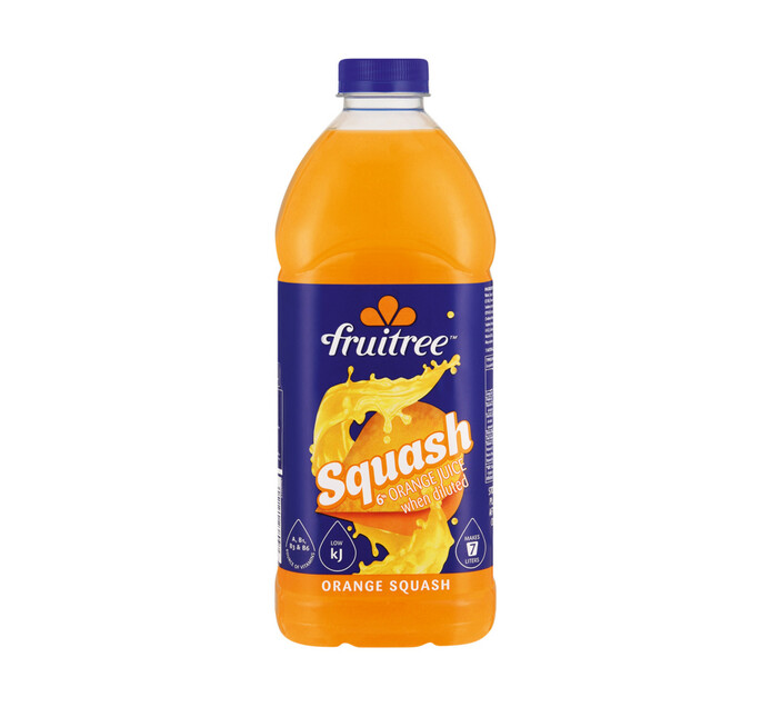 Fruitree Squash Orange (6 x 1.75lt)