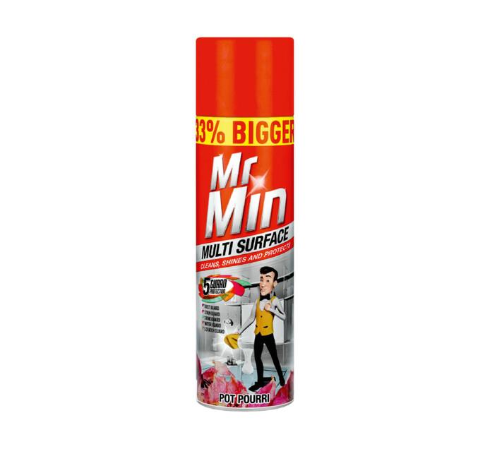 Mr Min Multi Surface Aero Pot Pourri (6 x 400ml)