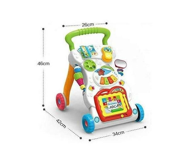 Totand Baby Push -Toddler Sit to Stand Walker