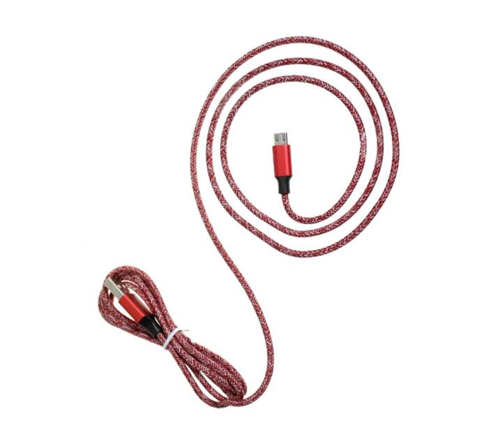 Rocka 1.8M Micro USB Fashion Cable Red