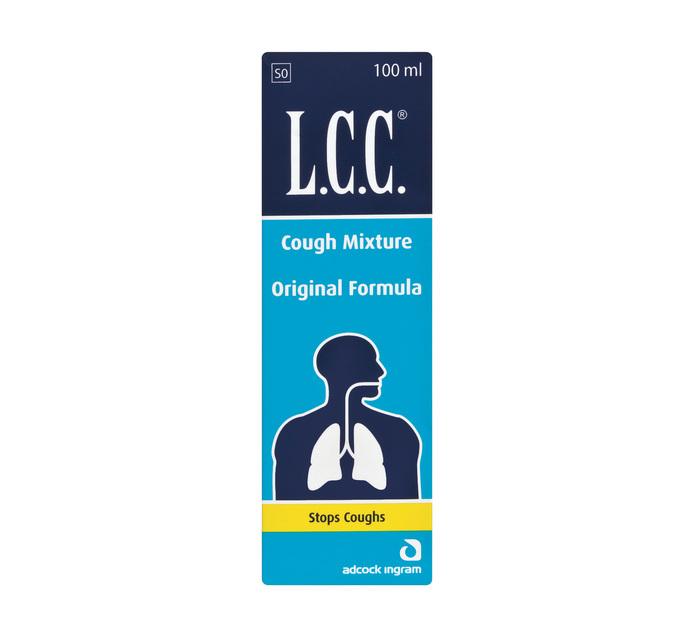 LCC Cough Mixture Original (6 x 100ML)